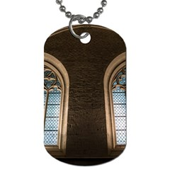 Church Window Church Dog Tag (one Side)