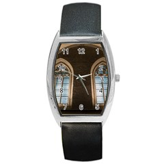 Church Window Church Barrel Style Metal Watch