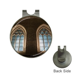 Church Window Church Hat Clips With Golf Markers