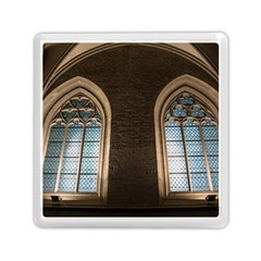 Church Window Church Memory Card Reader (square)