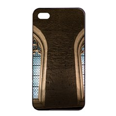 Church Window Church Apple Iphone 4/4s Seamless Case (black)