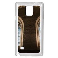 Church Window Church Samsung Galaxy Note 4 Case (white)