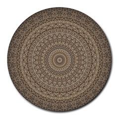 Background Mandala Round Mousepads