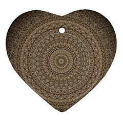 Background Mandala Ornament (heart)