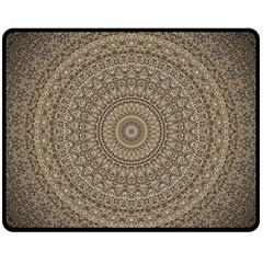 Background Mandala Fleece Blanket (medium)