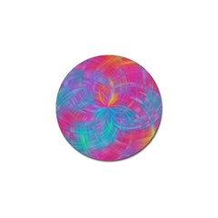Abstract Fantastic Fractal Gradient Golf Ball Marker (4 Pack)