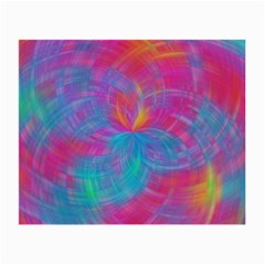 Abstract Fantastic Fractal Gradient Small Glasses Cloth
