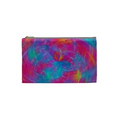 Abstract Fantastic Fractal Gradient Cosmetic Bag (small)