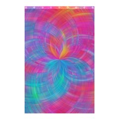 Abstract Fantastic Fractal Gradient Shower Curtain 48  X 72  (small)