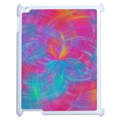 Abstract Fantastic Fractal Gradient Apple Ipad 2 Case (white)
