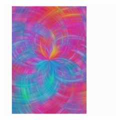 Abstract Fantastic Fractal Gradient Small Garden Flag (two Sides)