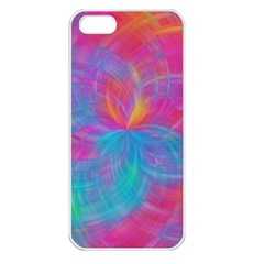 Abstract Fantastic Fractal Gradient Apple Iphone 5 Seamless Case (white)