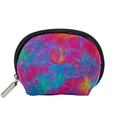 Abstract Fantastic Fractal Gradient Accessory Pouches (small)