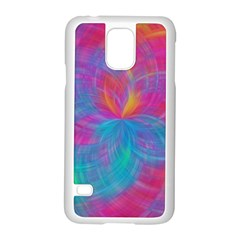 Abstract Fantastic Fractal Gradient Samsung Galaxy S5 Case (white)