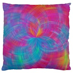 Abstract Fantastic Fractal Gradient Large Flano Cushion Case (two Sides)
