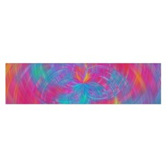 Abstract Fantastic Fractal Gradient Satin Scarf (oblong)