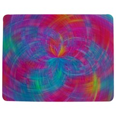 Abstract Fantastic Fractal Gradient Jigsaw Puzzle Photo Stand (rectangular)
