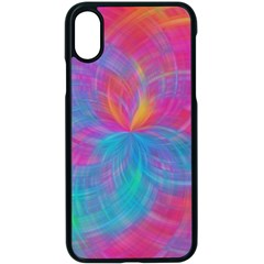 Abstract Fantastic Fractal Gradient Apple Iphone X Seamless Case (black)