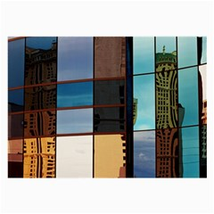 Glass Facade Colorful Architecture Large Glasses Cloth (2 Side)