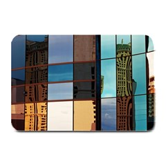 Glass Facade Colorful Architecture Plate Mats