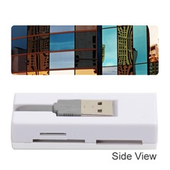 Glass Facade Colorful Architecture Memory Card Reader (stick)