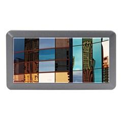 Glass Facade Colorful Architecture Memory Card Reader (mini)