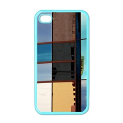 Glass Facade Colorful Architecture Apple Iphone 4 Case (color)