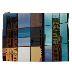 Glass Facade Colorful Architecture Cosmetic Bag (xxl)