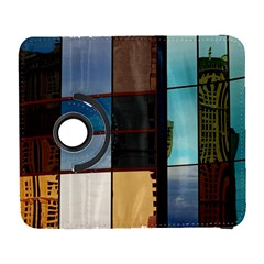 Glass Facade Colorful Architecture Galaxy S3 (flip/folio)