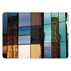 Glass Facade Colorful Architecture Samsung Galaxy Tab 8 9  P7300 Flip Case