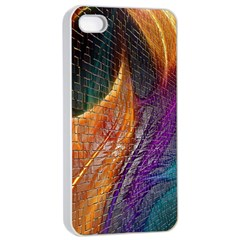 Graphics Imagination The Background Apple Iphone 4/4s Seamless Case (white)