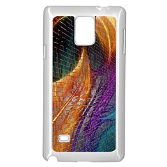 Graphics Imagination The Background Samsung Galaxy Note 4 Case (white)
