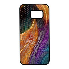 Graphics Imagination The Background Samsung Galaxy S7 Black Seamless Case