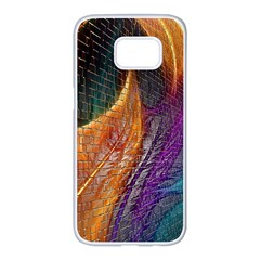 Graphics Imagination The Background Samsung Galaxy S7 Edge White Seamless Case