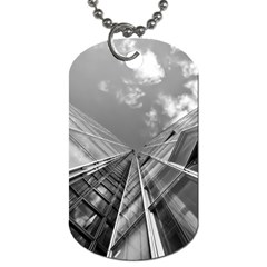 Architecture Skyscraper Dog Tag (two Sides)