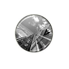 Architecture Skyscraper Hat Clip Ball Marker