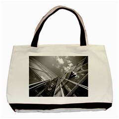 Architecture Skyscraper Basic Tote Bag