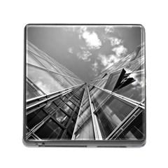 Architecture Skyscraper Memory Card Reader (square)