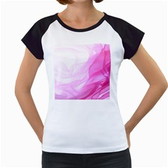 Material Ink Artistic Conception Women s Cap Sleeve T
