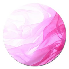 Material Ink Artistic Conception Magnet 5  (round)