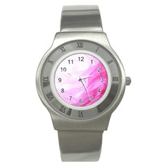 Material Ink Artistic Conception Stainless Steel Watch