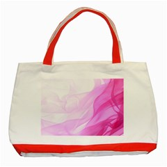 Material Ink Artistic Conception Classic Tote Bag (red)