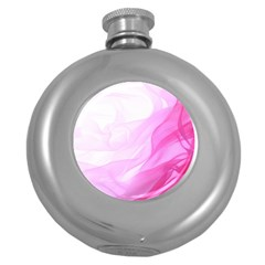 Material Ink Artistic Conception Round Hip Flask (5 Oz)