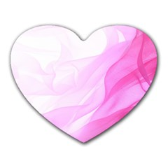 Material Ink Artistic Conception Heart Mousepads
