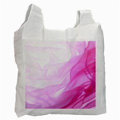 Material Ink Artistic Conception Recycle Bag (one Side)