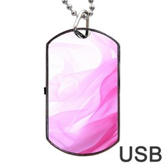 Material Ink Artistic Conception Dog Tag Usb Flash (two Sides)
