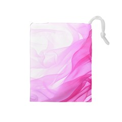 Material Ink Artistic Conception Drawstring Pouches (medium)