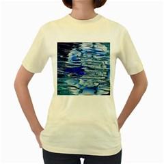 Graphics Wallpaper Desktop Assembly Women s Yellow T Shirt