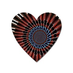 The Fourth Dimension Fractal Noise Heart Magnet