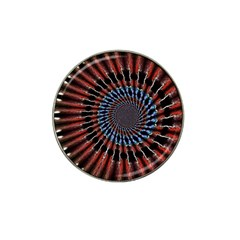The Fourth Dimension Fractal Noise Hat Clip Ball Marker
